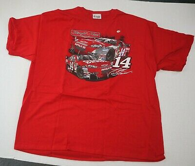 19b8babe CHASE #14 UNIFORM Tee Shirt Tony Stewart Old Spice Office Depot Red ...