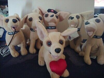 Taco Bell Chihuahua Lot Of 6