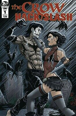 Crow Hack Slash #1 (Of 4) Cvr A Seeley Idw 1St App Of New Crow 6 26 2019