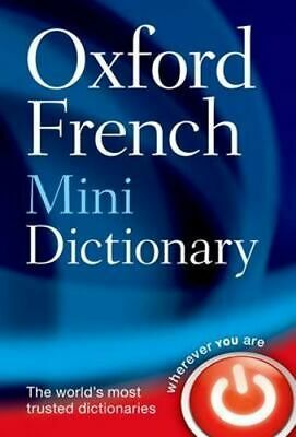 NEW Oxford French Mini Dictionary By Oxford Dictionaries Paperback Free Shipping