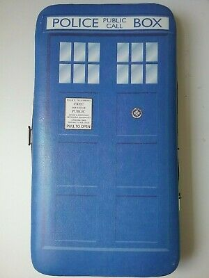 Official BBC Dr Who Tardis Hinged Wallet/Purse Padded Soft Touch