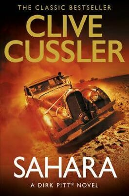 NEW Sahara By Clive CUSSLER Paperback Free Shipping
