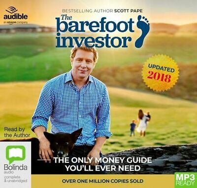 NEW The Barefoot Investor : The Only Money Guide You'll Ever Need, 2018/2019 Edi