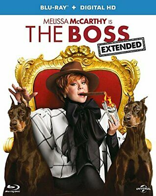 The Boss (Blu-ray + Digital Download) [2015] - DVD  OAVG The Cheap Fast Free