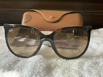 b159981a7 Ray-Ban Cats 1000 RB 4126 710/51 Tortoise Sunglasses Brown Gradient Lens