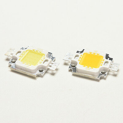 10 PCS 10W Cool/Warm White High Power 30Mil SMD Led Chip Flood Light Bead DI