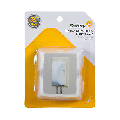 SAFETY 1ST/DOREL 2-Pack  White Child Safety Outlet Cover 10404