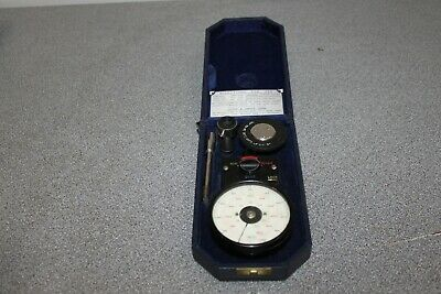 Smiths Handheld Tachometer Rev Counter Reader with Original Case and Accessories