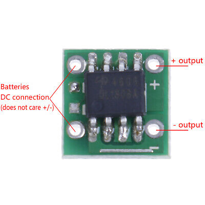 4A Auto DC to DC voltage polarity exchange and reverse protection circuit cha DI