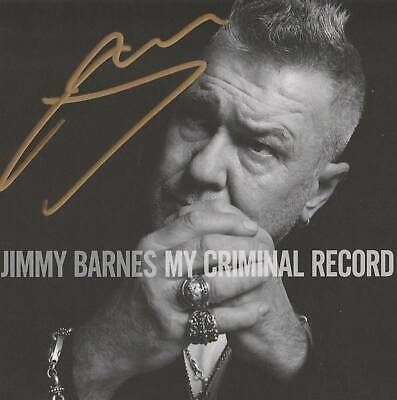 Jimmy Barnes - My Criminal Record - SIGNED LIMITED EDITION