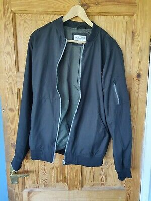 f1f6b8640 MENS PULL AND BEAR Bomber Jacket Size S **Suede**Beige** - £7.99 ...