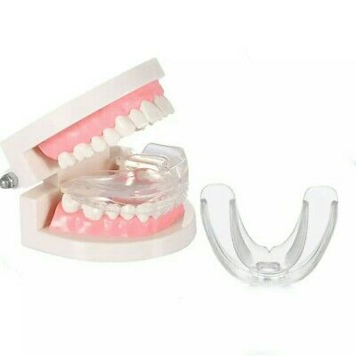 1x Protector de doble cara dental férula de descarga bucal dentista