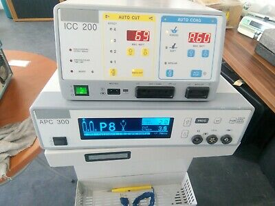 ERBE ICC 200 Electrosurgical Unit and ERBE APC 300 & Foot Pedal