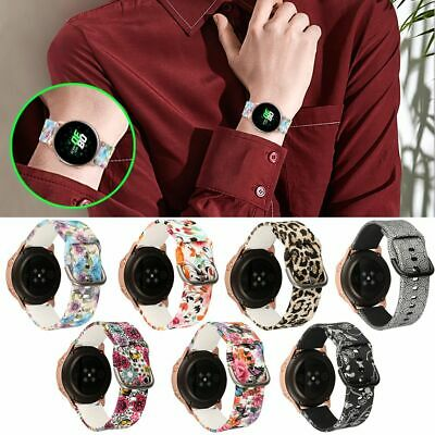 For Samsung Galaxy Watch Active Silicone Sport Wrist Band Strap Bracelet 20mm