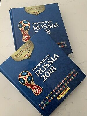 Panini 2018 Fifa World Cup Russia Hardcover Album 10 Packs Of 5 Stickers=50