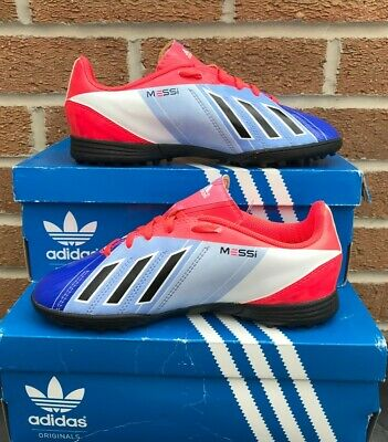 3d7f84834 Adidas Lionel Messi Astro/Football Trainers f5 Girls/Boys UK3 New other.