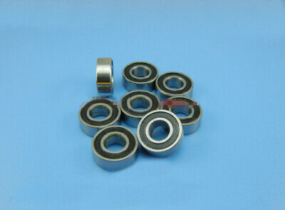Rubber Double Sealed Ball Bearing BLUE 6700RS 10x15x4 mm 6700-2RS 5 PCS