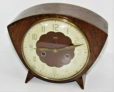 Nice Smiths 1950's Mantle Clock In A Retro Style Case