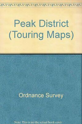 Peak District (Touring Maps) by Ordnance Survey Sheet map, folded Book The Cheap