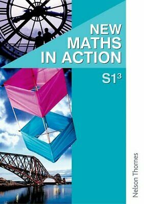 New Maths in Action S1/3 Pupil's Book: 1EF Pupil Book by Thomson, J Paperback