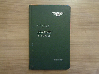 Bentley T Series Owners Handbook/Manual (First Edition)
