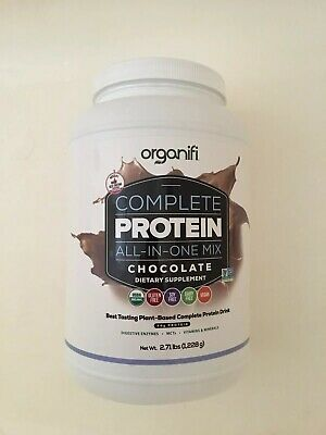 Organifi COMPLETE PROTEIN All in One Shake CHOCOLATE Flavored Dietary Supplement
