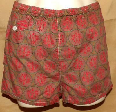FAB ORIG VTG 50s 60s MENS NOVELTY ASIAN PRINT SWIM WEAR BATHING SUIT TRUNKS M