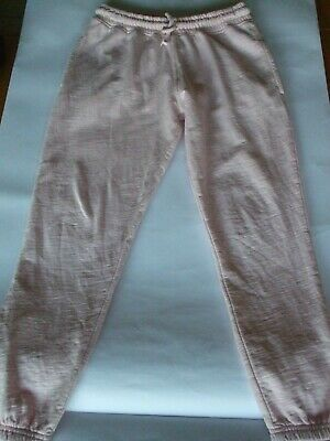 Next Pale Pink Girls Joggers Tracksuit Bottoms Age 10