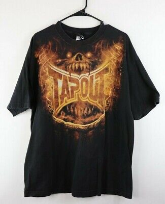 TAPOUT VTG TSHIRT mens 2xl An Expression Of Combat olive