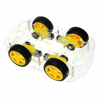 5X(Smart Car Kit 4WD Smart Robot Car Chassis Kits with Speed Encoder and Ba 2V4)