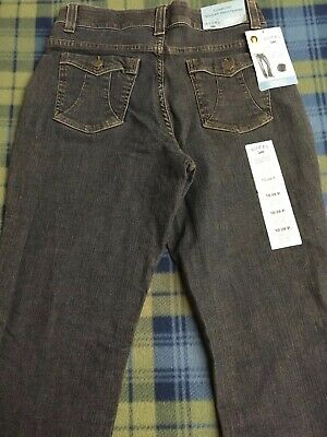 06b21b2a Riders by Lee Stretch Comfort Jeans Womens 10/28 No Gap Waistband NEW