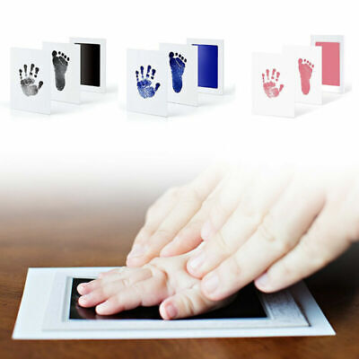 Baby Newborn Foot Handprint Ink Pad Inkless Touch Ink Pad Commemorative Gifts