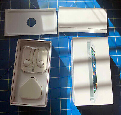 Iphone 5 32GB BOX ONLY Plus Earpods (NEW)