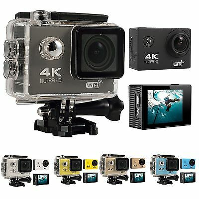 4K Ultra HD DV 16MP 1080p 60fps Sports Action Camera Full Accessory Wifi-Support