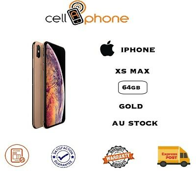 Apple iPhone XS Max - 64 GB - Gold (Unlocked) AU Stock Express delivery