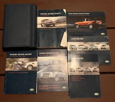 2006 LAND ROVER Range Rover owners manual with case - $1 25