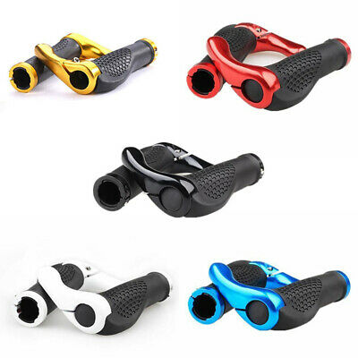 1 Pair Mountain MTB Cycling Bike Bicycle Handlebar Grips With Bar Ends