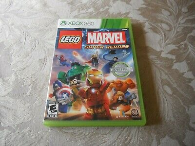 xbox 360 lego marvel superheroes please note NTSC format not pal format