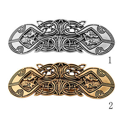 Retro Style Woven Celtic Irish Knot Woven Hairclip Ponytail Holder Hairpin