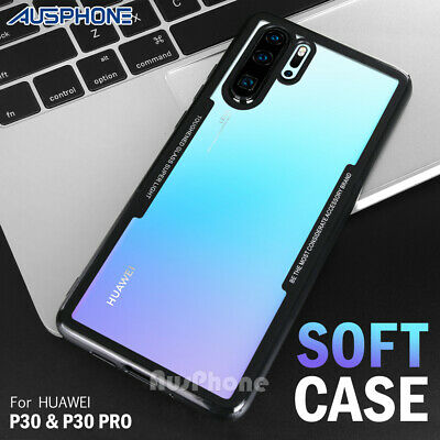 Shockproof Case Cover Super Light Hybrid Toughened Glass For Huawei P30 Pro /P30