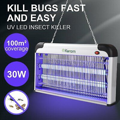 20W 30W 40W Electric Insect Mosquito Fly Killer Bug Zapper UV Light Home Indoor