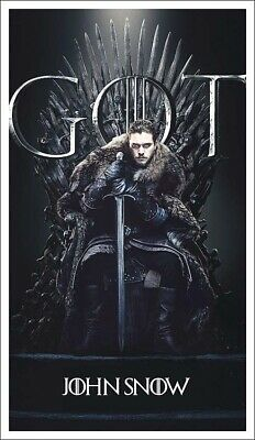 20 Game Of Thrones Character Posters 3 Sizes, On 200gsm Satin Gloss Paper