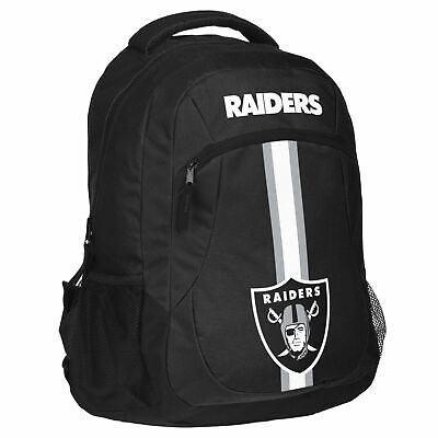Oakland Raiders Backpack Action Laptop Bag NFL Football Official Licensed School