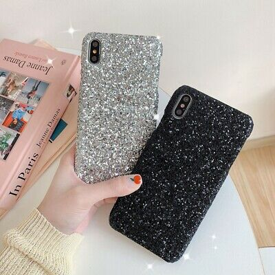 Bling Glitter Full Sparkle Case Cover Slim Fit for iPhone X XS XR MAX 6 7 8 Plus