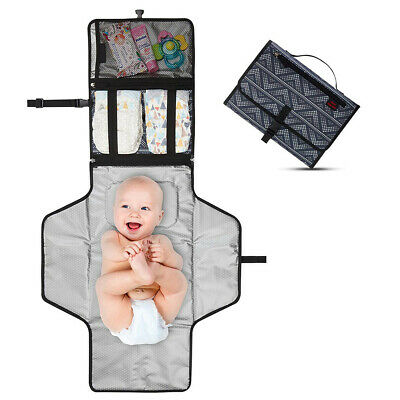 Newborns Foldable Waterproof Baby Diaper Changing Mat Portable Changing Pad UK