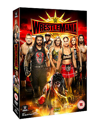 Brand New - WRESTLEMANIA 35 DVD [2019] WWE Official Store