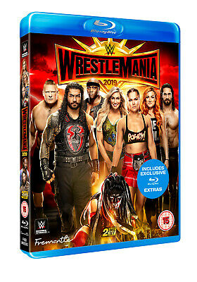 Brand New - WRESTLEMANIA 35 Blu-ray [2019] WWE Official Store