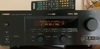YAMAHA HTR-5850 SURROUND Sound Receiver With Manual And ... on