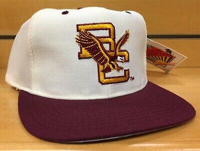 newest 1693d 96aee New Deadstock BC Boston College Eagles Vintage Snapback Cap Hat NWT SNAP