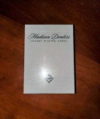 6 DECKS BICYCLE MADISON DEALERS GREEN MARKED ELLUSIONIST PLAYING CARDS BOX CASE